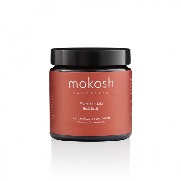 mokosh cosmetics Körperbutter Orange Zimt 120ml